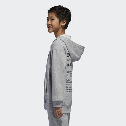 Thị trường trang phục trẻ em  Adidas chính thức Adidas clover nam áo nỉ nam lớn DH3225 DH3074