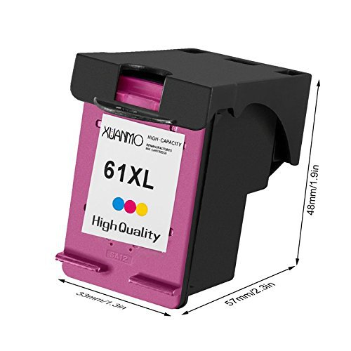 XUANMO Hộp mực nước - hp61 tương thích HP1000 1010 1510 2510 3510 HP