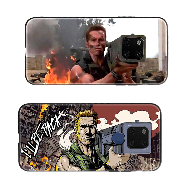 CHUXIN bao da điện thoại Huawei mate20 mẫu sáng tạo Vỏ điện thoại di động Schwarzeneg mate20pro vỏ s