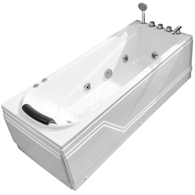 Bồn đứng tắm Căn hộ nhỏ 1,4m phòng tắm bể bơi bể bơi sâu nhà bồn tắm 1.7 bồn nhỏ hình chữ nhật 1,3 m