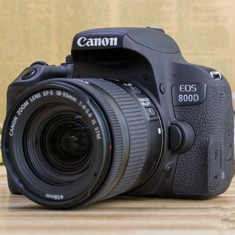 Máy ảnh phản xạ ống kính đơn - Canon EOS 800D (18-55mmSTM) kit Máy ảnh DSLR