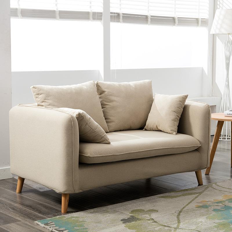 BAILITU thị trường nội thất , đèn Sofa vải Bắc Âu ánh sáng sang trọng căn hộ nhỏ đơn giản căn hộ phò