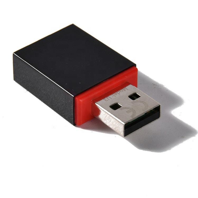 Tenda Card mạng Tengda U3 ổ đĩa không miễn phí 300mbps máy tính để bàn di động không dây di động wi-