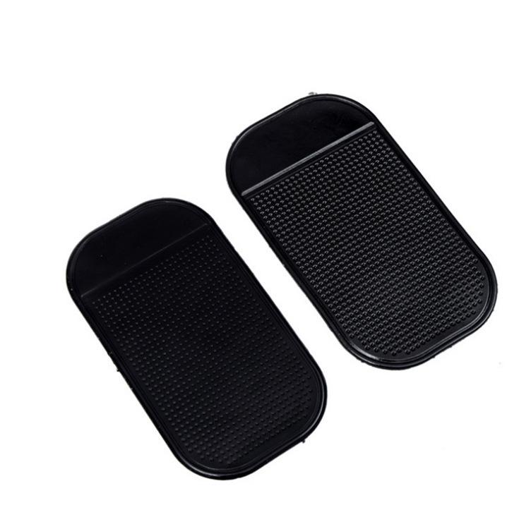 Đệm chống trơn Xe có điện thoại nhỏ 13 * 7 xe mat mat silicone xe mat nhện chống trượt mat