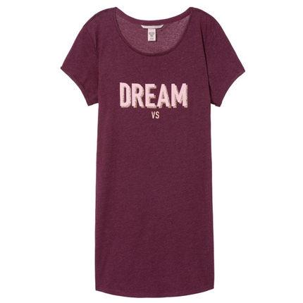 Đồ ngủ VICTORIA'S SECRET Thời gian có hạn 2 chiếc giảm 75% | Wei Mi chơi thú vị kiểu áo thun ngắn ta