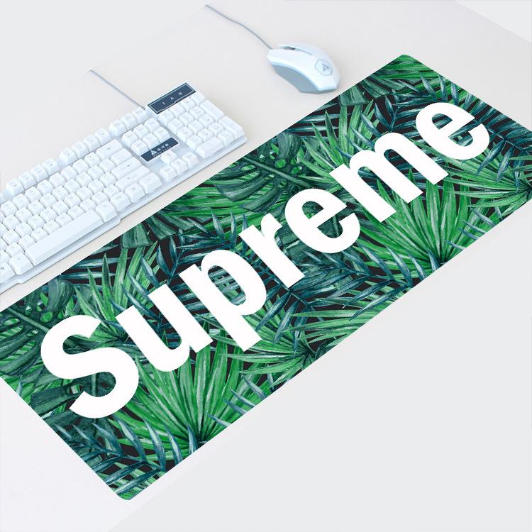 CHUANGCAI Thảm lót chuột Xu hướng thời trang unisex đơn giản pad chuột lớn tùy chỉnh bảng mat chuột