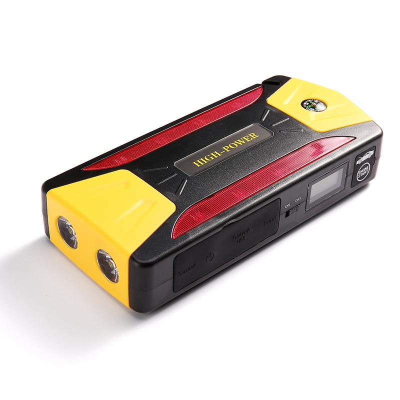 Danh sách mới đa chức năng cung cấp điện khởi động khẩn cấp với màn hình la bàn xe cứu hỏa sạc điện