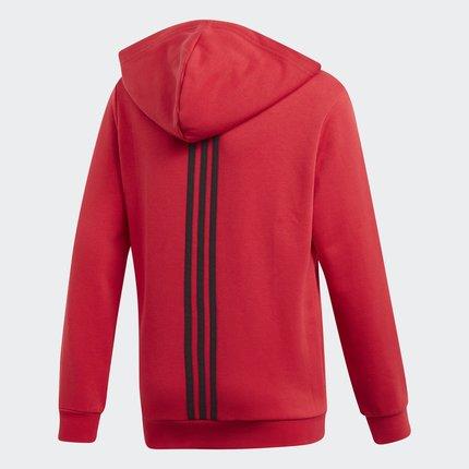 Thị trường trang phục trẻ em  Adidas chính thức MUFC KIDS FZHD cậu bé lớn Manchester United áo khoác