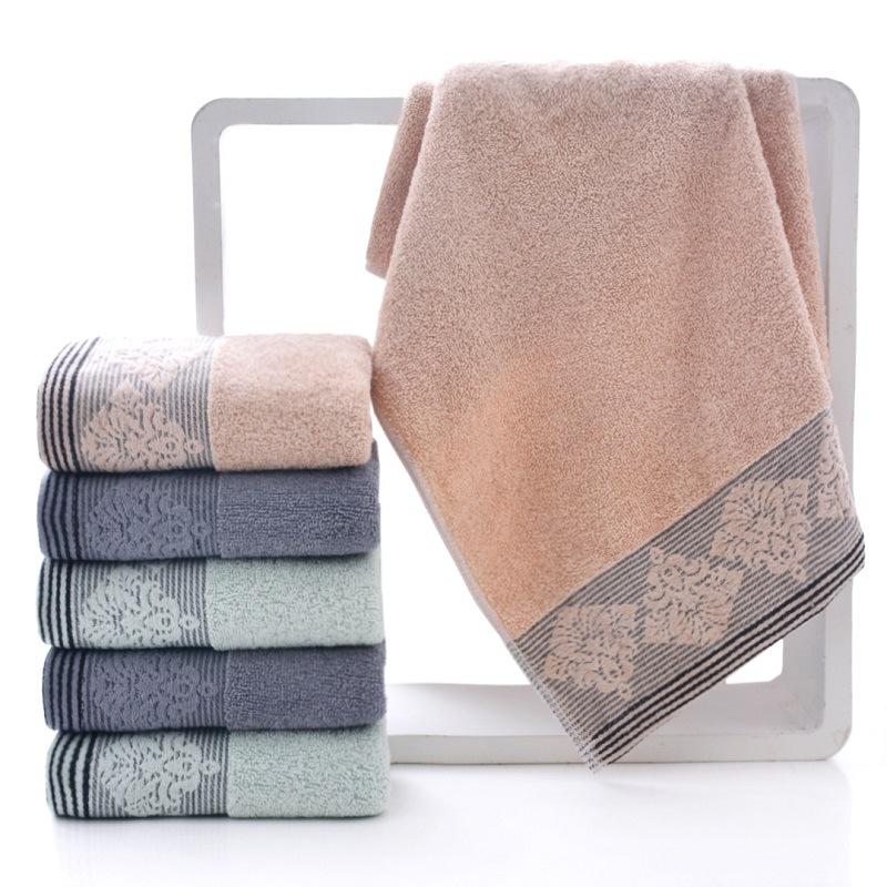 WMMT Khăn lông Khăn bông Mới dành cho người lớn Khăn tắm dành cho người lớn Khăn mềm đôi tùy chỉnh K