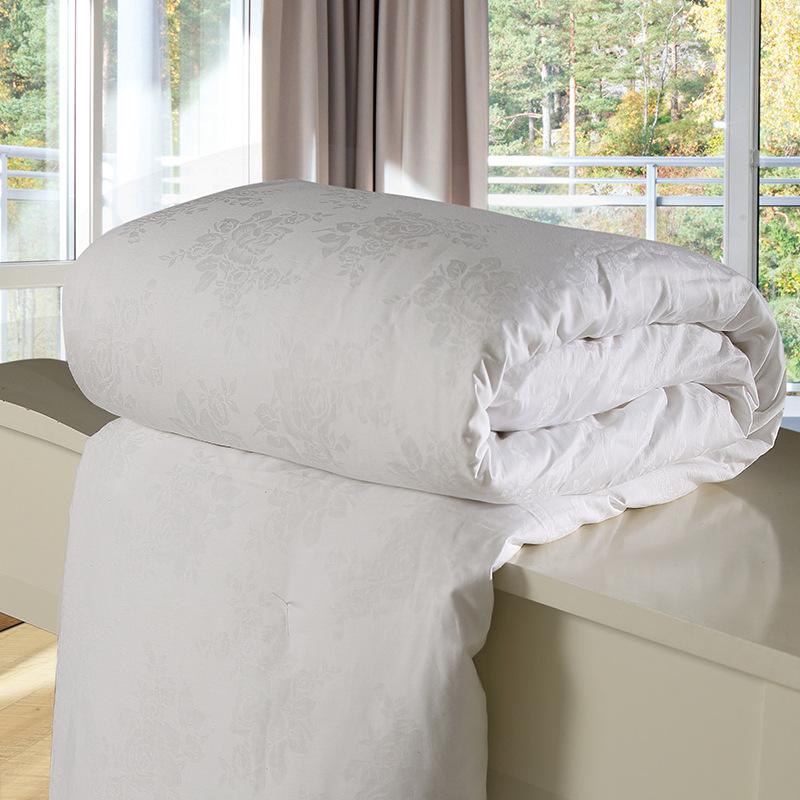 Mền tơ tằm Cotton 60s dâu tằm dày làm ấm lụa tự nhiên mùa đông chăn đặc biệt là quà tặng