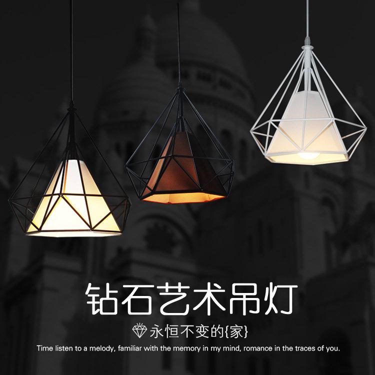 MIQIKE Đèn treo trần Bắc Âu retro rèn sắt đèn chùm sáng tạo bàn trà nhà hàng đèn chùm công nghiệp gi
