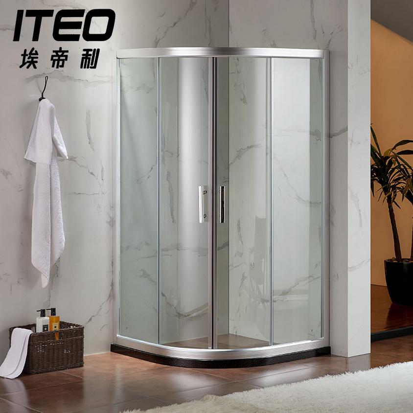 AIDILI Bồn đứng tắm Phòng tắm Eddie nhà sản xuất Hà Nam tùy chỉnh nhôm dày hợp kim kính cường lực hồ