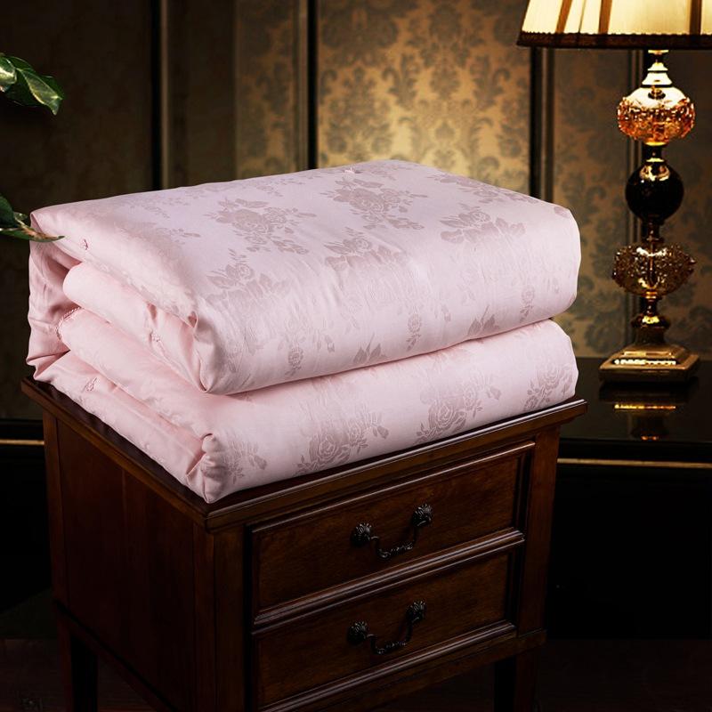 DAIMANTE Mền tơ tằm Bởi lõi mùa thu và mùa đông kapok lụa quilt mẹ là cotton satin jacquard dày chăn