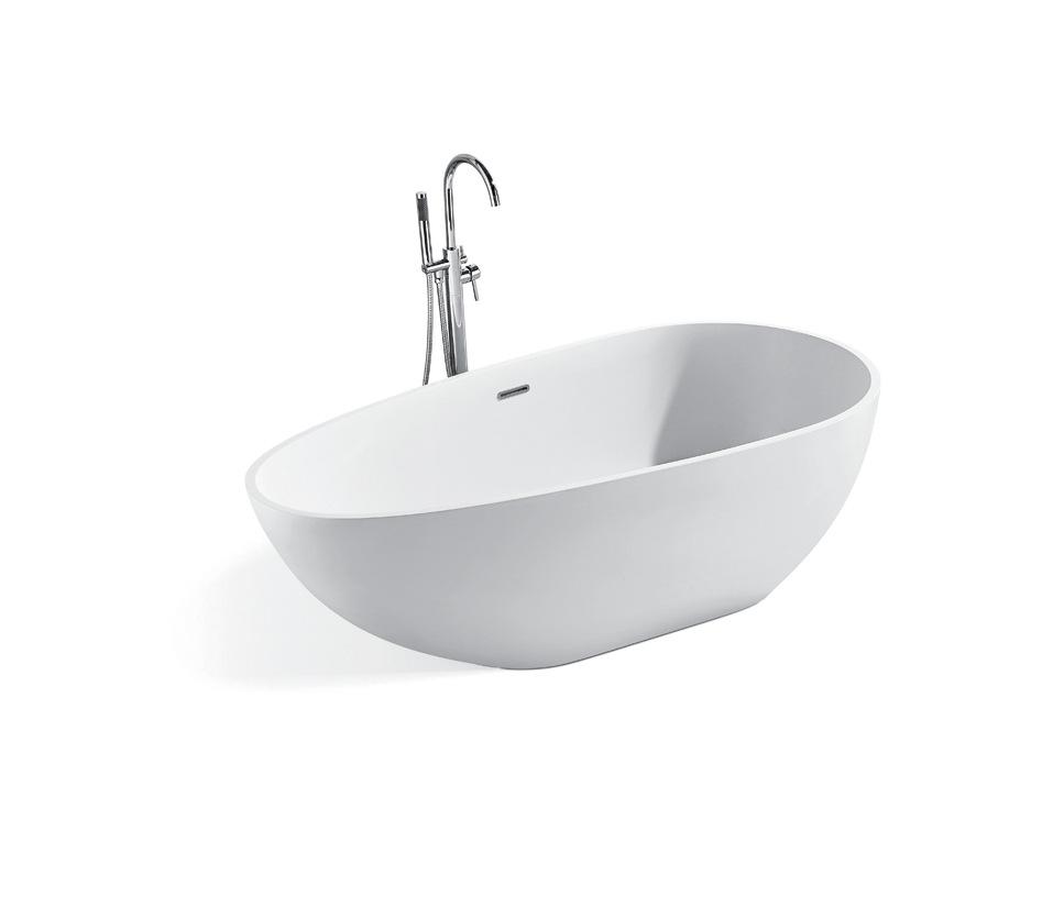 RUIJIAN Bồn đứng tắm Bồn tắm đá nhân tạo YG9904 / matt / sáng Nhà tắm tùy chỉnh màu xanh lá cây sáng