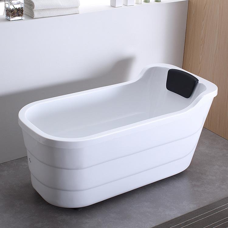 SHANGHUANG Bồn đứng tắm Nhà máy bán buôn trực tiếp bồn tắm acrylic phòng tắm gia đình độc lập người