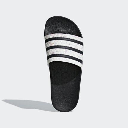 dép mang trong nhà  Adidas chính thức Adidas clover ADILETTE W dép nữ CG6256