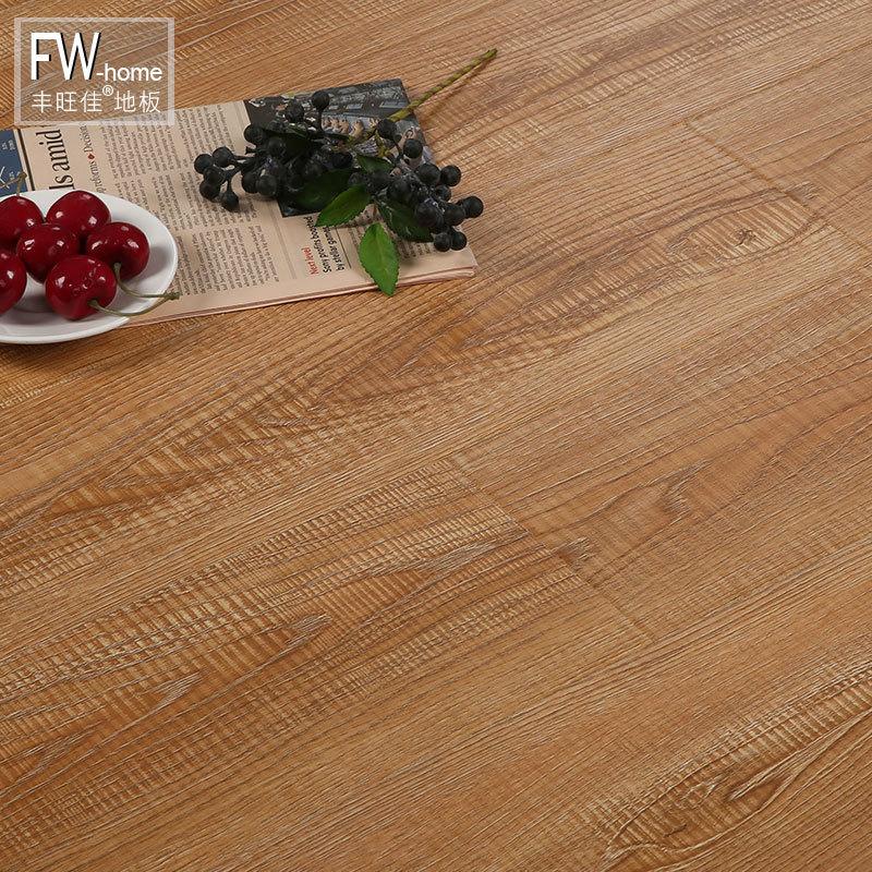 FENGWANGJIA Ván sàn Sàn gỗ composite cốt thép mặc nhà bảng kỹ thuật chống thấm môi trường màu xám Bắ