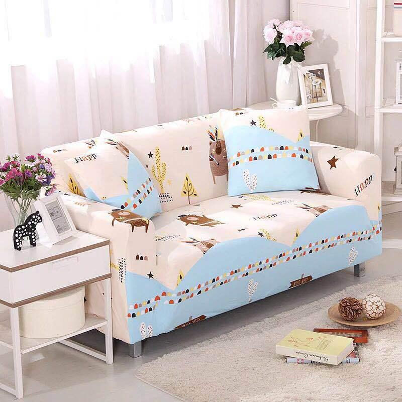 GUDANYA Vỏ bọc Sofa Bao gồm tất cả sự kết hợp bao gồm ghế sofa kéo dài Bốn mùa phổ quát vải chống tr