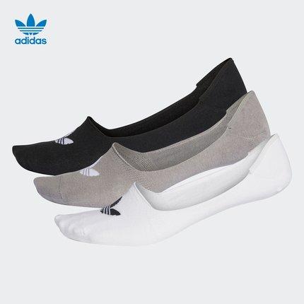 Vớ trẻ em  Adidas Official Cỏ ba lá KHÔNG SHOW SOCK 3P Vớ nam và nữ CV5941 DW4132