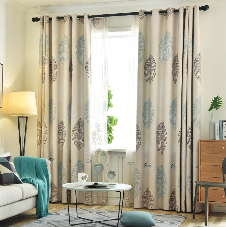 Thị trường trang trí nội thất Tùy chỉnh Bắc Âu hoàn thành rèm cửa + màn hình phòng ngủ hiện đại đơn