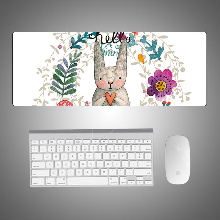Thảm lót chuột Chuột pad Sáng tạo bàn lớn Bàn hoạt hình dễ thương Trò chơi tươi chống trượt chuột