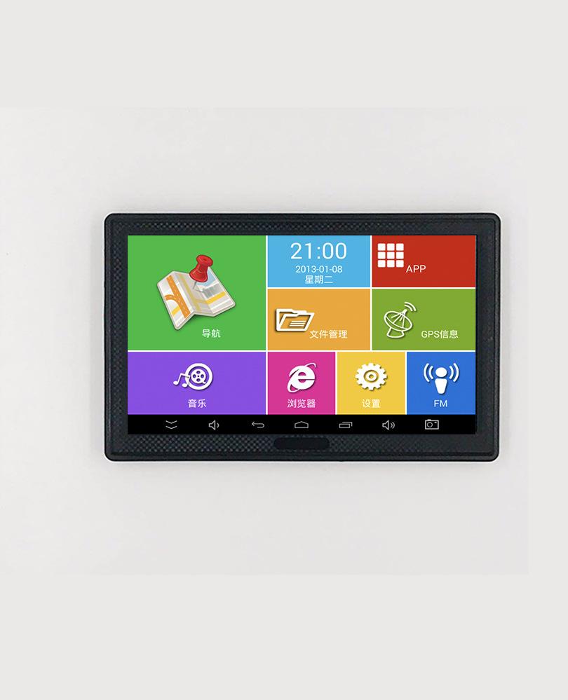 ZHONGXING Thiết bị định vị Bán buôn Android 7 inch cầm tay GPS Navigator nhà máy có thể hỗ trợ điều