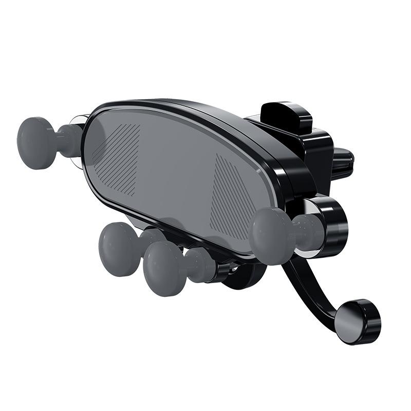 JIBAN phụ kiện chống lưng điện thoại Cửa thoát khí giá đỡ xe điện thoại mới sáng tạo cảm biến trọng
