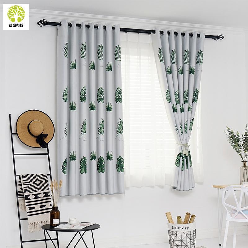 Thị trường trang trí nội thất Nhà máy sản xuất rèm cửa trực tiếp 2.1 mét in rèm cửa sổ Cửa sổ ban cô