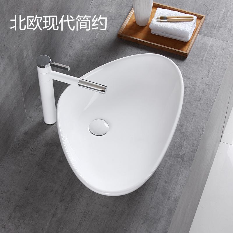 XUANBAILI Nhà máy trực tiếp gốm phòng tắm nghệ thuật lưu vực rửa lưu vực ban công rửa lưu vực phòng