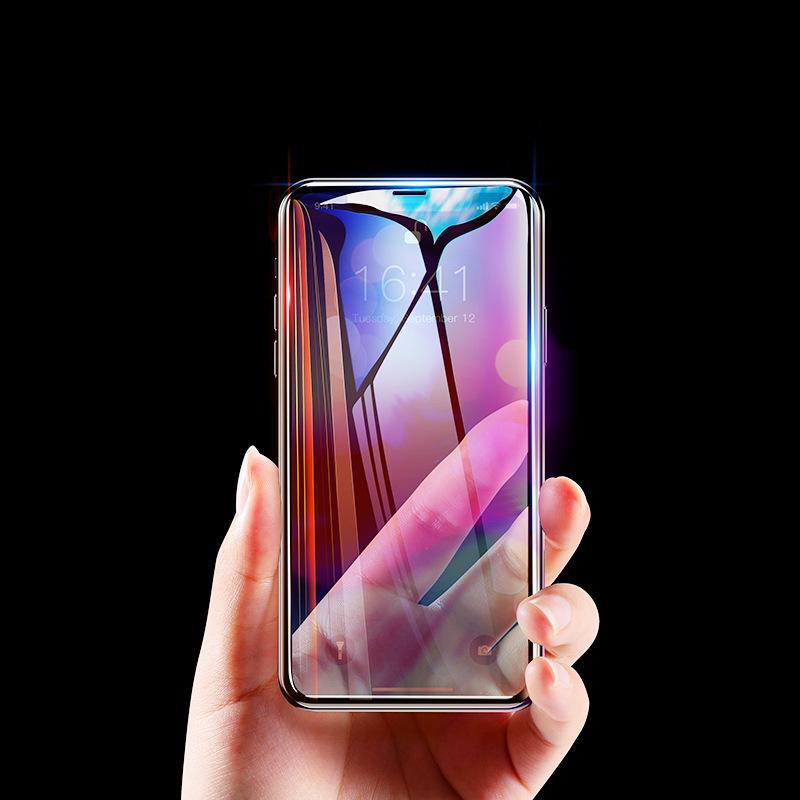 BASEUS Miếng dán màn hình Sử dụng tốt nhất màng chống nổ iphoneXS Phim điện thoại di động 6.16.5 inc
