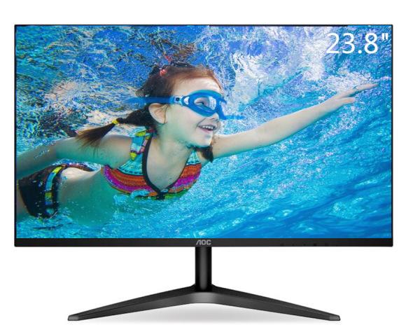 AOC Màn hình máy tính AOC 24B1XH 23,8 inch Màn hình hẹp HDMI màn hình HDMI HD không flash màn hình