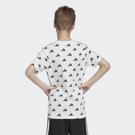 Thị trường trang phục trẻ em  Adidas chính thức Adidas YB ID HYPE TEE đào tạo áo sơ mi ngắn tay DV16