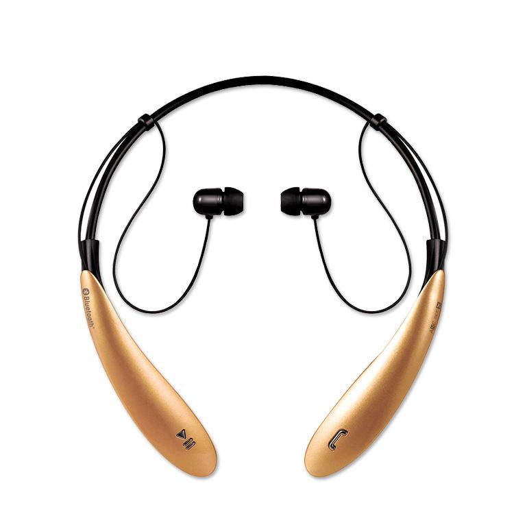 ZHONGXING Tai nghe Không dây mới HBS800 thể thao treo cổ tai nghe Bluetooth stereo tai nghe không dâ