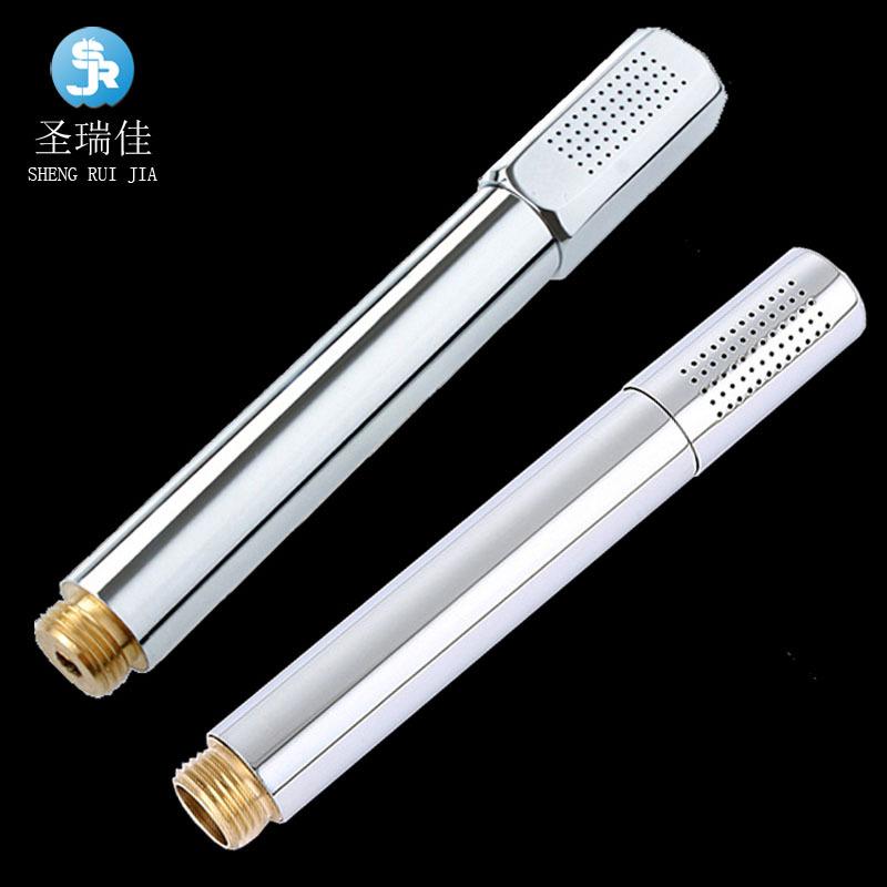 Shengruijia Khoá cửa nhà sản xuất thiết bị vệ sinh đầu đồng vòi sen thép không gỉ ống cầm tay siêu t