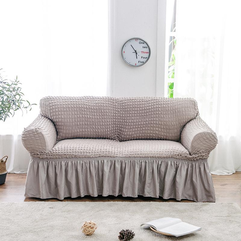 HYYX Vỏ bọc Sofa Nhà máy trực tiếp đơn giản bao gồm tất cả bao gồm phổ quát tay áo đàn hồi đặt bộ so
