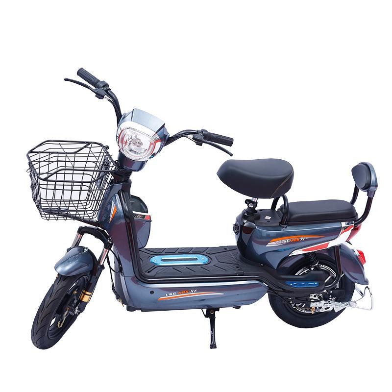 JINSIHOU xe đạp điện Nhà máy trực tiếp khỉ vàng đôi xe điện người lớn xe đạp điện nam và nữ đạp pin