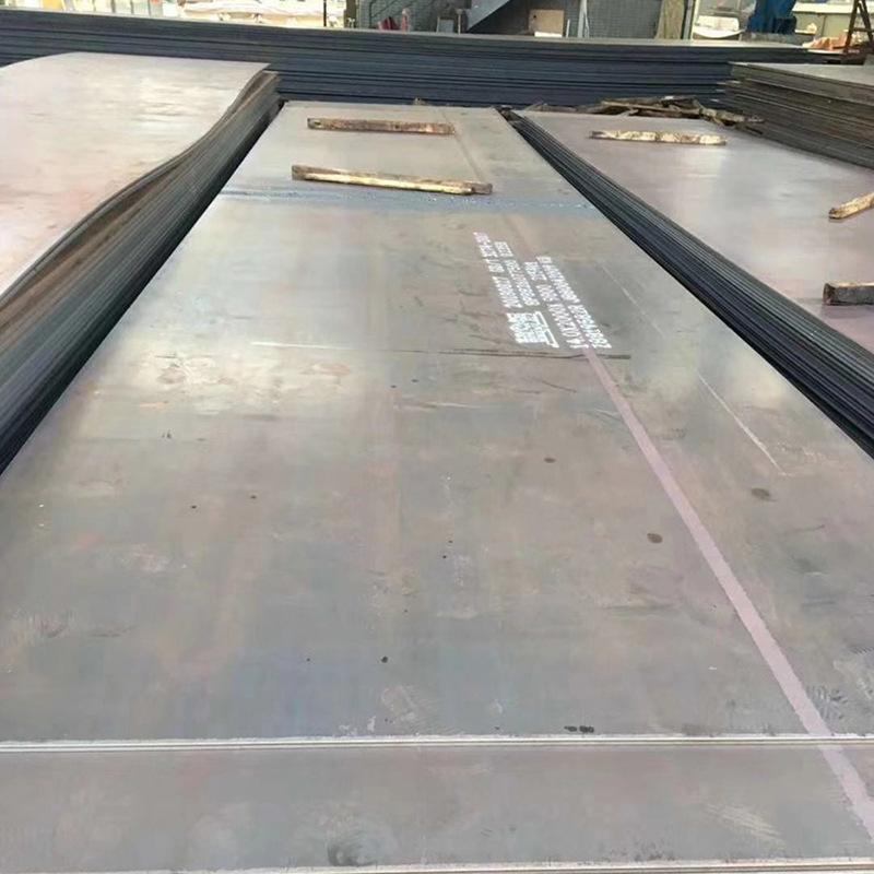 Cán nóng Thép tấm Phật Sơn tấm thép dày trung bình mạ kẽm phẳng tấm q235 thép tấm cán nóng CNC cắt t
