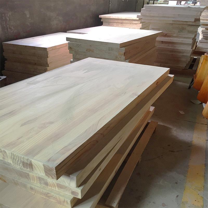 Ván gỗ Nhà máy trực tiếp bảng gỗ thông 3,5,8 cm bàn thanh bàn máy tính để bàn kích thước màu tùy chỉ