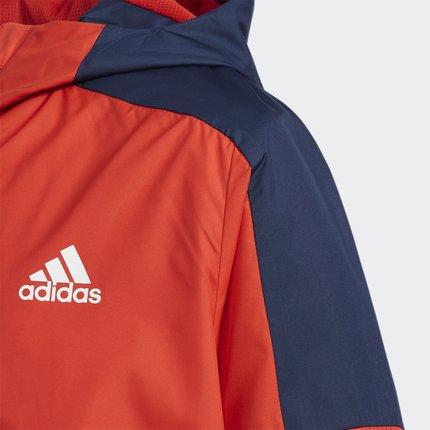 Thị trường trang phục trẻ em  Adidas chính thức Adidas YB CB WV JKT trẻ em lớn đào tạo áo khoác dệt