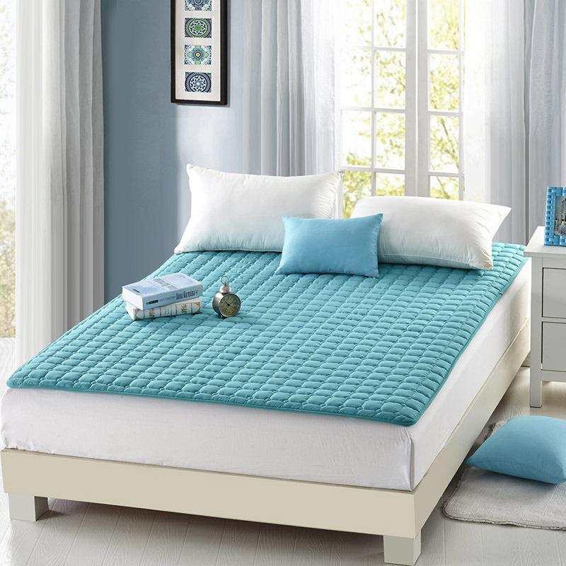 HUAYUNLAI Giường nệm Giặt nệm mùa hè đôi 1,8m Giường Simmons đệm mỏng phần làm sạch pad chống trượt