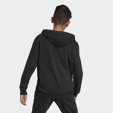 Thị trường trang phục trẻ em  Adidas chính thức Adidas YB MH BOS PO big boy đào tạo áo len áo thun D