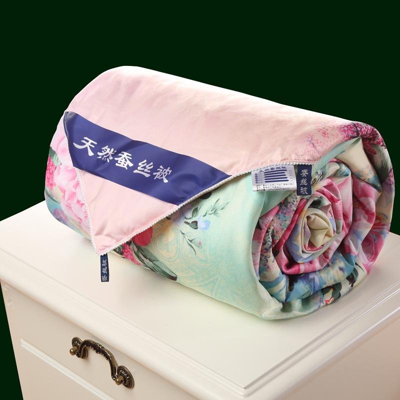 XFAN Thưởng thức chăn bông lụa Anna mỏng quilt Nhà máy quà tặng trực tiếp bằng lõi Điều hòa mùa đông