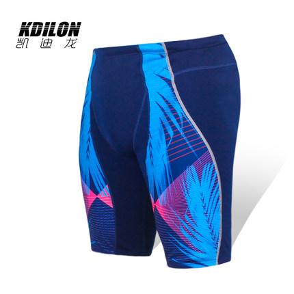 chống thấm nước  kdilon Kaidilong quần bơi nam phù hợp với đồ bơi chuyên nghiệp năm điểm boxer quần