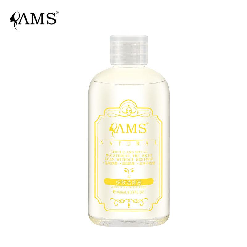 YAMS Nước hoa hồng Nước rửa mặt và mặt rửa mặt nhẹ nhàng làm sạch sâu sinh viên nữ làm dịu nhẹ sữa r