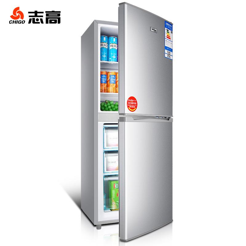 Chigo Điện gia dụng chính hãng 152 đôi cửa tủ lạnh nhỏ hộ gia đình nhỏ ba cửa tủ lạnh một cửa