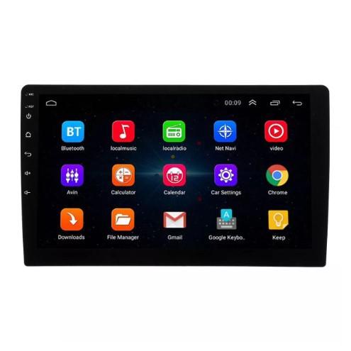 Oluka Thiết bị định vị Điều hướng xe 10 inch Android 8.0 màn hình cảm ứng lõi tứ Đài phát thanh GPS