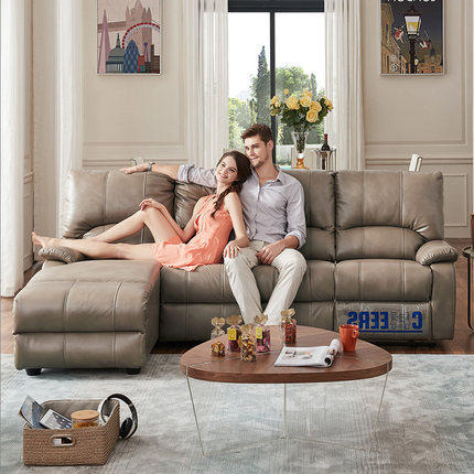 Ghế Sofa CHEERS Chihuahua Sofa hạng nhất hiện đại Sofa vải đơn giản Căn hộ nhỏ phòng khách kết hợp c