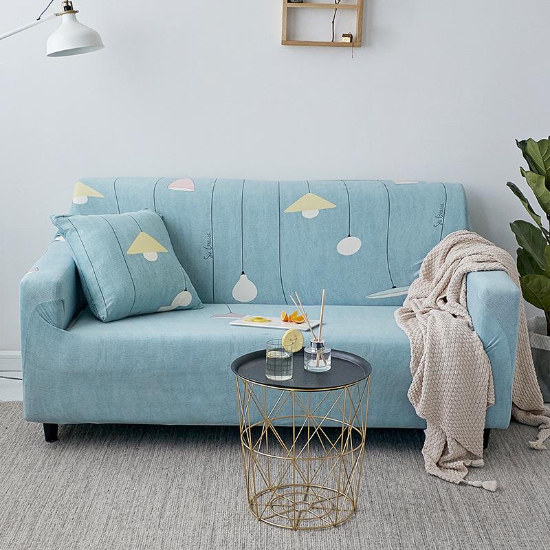 PANYA Vỏ bọc Sofa Sofa bao gồm tất cả có thể bọc vải bốn mùa sofa đàn hồi đệm da sofa khăn đơn kết h