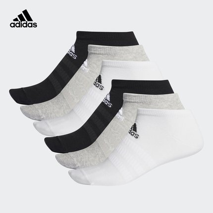 Vớ trẻ em  Adidas chính thức adidas LIGHT LOW 6PP cho nam và nữ tập vớ thể thao DZ9407