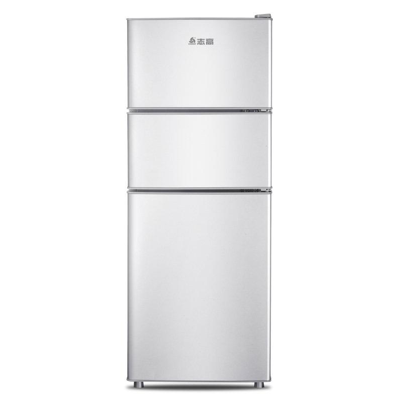 Chigo Điện gia dụng chính hãng W Zhigao 138 lít tủ lạnh nhỏ ba cửa tủ lạnh nhỏ hộ gia đình tủ lạnh i